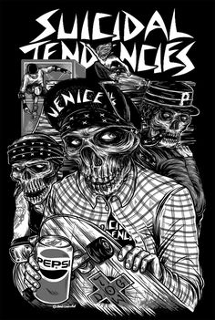 Suicidal Tendencies concert poster
