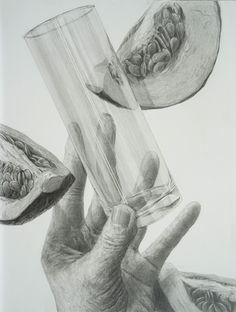 デッサン | 柏市で美術芸大受験対策 | 柏美術学院 Pencil Drawings, Art Drawings, Hand Drawing Reference, Technical Drawing, Pictures To Draw, Figure Drawing, Still Life, How To Draw Hands, Sketches