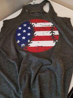 fa09311b200 Baseball Flag Shirt, Womens Shirt, Baseball Mom Shirt, Patriotic Shirt,  Flag T-Shirt, Baseball Tank, Gift, America Shirt, Baseball Tees