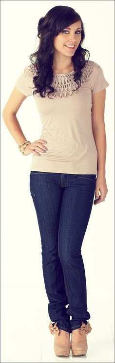 Beaded Top *CLEARANCE* [8013] - $14.00 : Mikarose Boutique, Reinventing Modesty