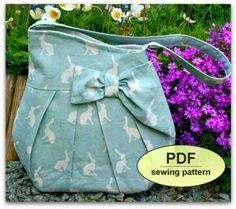 Brief Encounter Bag - PDF sewing pattern download