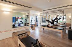 Michal's Pilatis Studio - contemporary - home gym - other metro - 2 designers