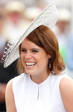 Princess Eugenie wears hat