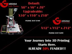 """12"""" 3d printer"""