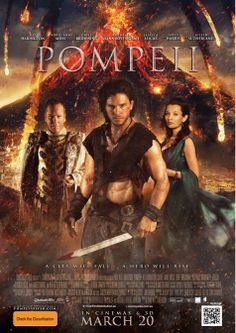 Nuevo poster australiano de la película Pompeya (#pompeii). http://evpo.st/1bFRu07 de Paul W.S. Anderson.