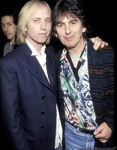 George and Tom at 1992 Billboard Music Awards