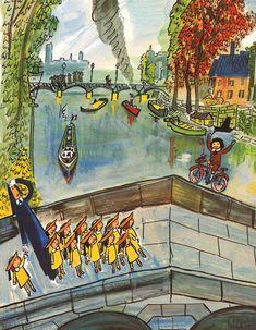 original artwork from ludwig bemelmans | MADELINE AND THE BAD HAT | LUDWIG BEMELMANS