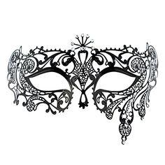 Printable Mask Masquerade Mask Carnival Mask Party  Evascreation