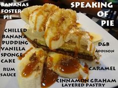 Banana Fosters Pie