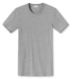 Soft Pima Stretch Cotton For Superb Comfort & Fit | Schiesser Men's Ludwig Short Sleeve Crew Neck Shirt | View Schiesser's Revival collection at SocksFox