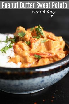 This curry is made entirely with whole foods, but it's rich and creamy and so decadent! It's easy to make and will definitely satisfy meat eaters and vegetarians alike! Good Healthy Recipes, Meat Recipes, Whole Food Recipes, Vegetarian Recipes, Cooking Recipes, Vegetarian Sweets, Vegan Soups, Vegetable Recipes, Dinner Recipes