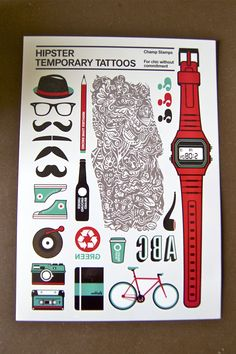 Our friends at Tattly make the best temporary tattoos <3