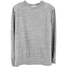 OUR LEGACY Great sweat 50's - Grey Bucle ($130) ❤ liked on Polyvore