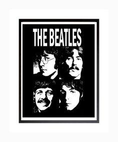 The Beatles Poster, The Beatles Print, Beatles Printable Art, Instant Download, Digital Print, Digital Poster, The Beatles Rock and Roll Please add