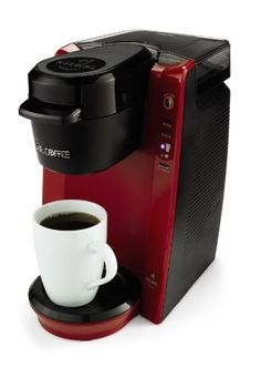 Mr Coffee Single Serve Coffee Brewer Machine Red Certified Refurbished     To View Further For This Item, Visit The Image Link.