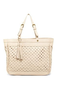 Isabella Fiore Vintage Weave Tote