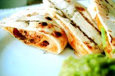 Grilled Chicken Avocado Quesadillas. What a wonderful combination. I will definitely try this one!