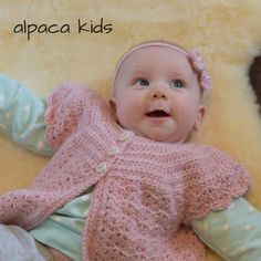 Pink Baby Sweater in