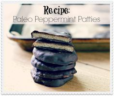 Craving candy? Leave out the refined sugar and artificial ingredients! Try these paleo peppermint patties made with shredded coconut, virgin coconut oil, raw honey, and antioxidant-rich dark chocolate.