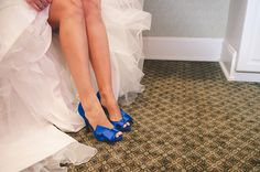 """Let your shoes be your """"something blue."""" 