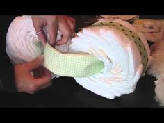 how to motorcycle diaper cake! love it!
