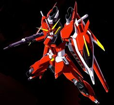 The ZGMF-X23S Saviour Gundam is a Mobile Suit in the series Gundam SEED Destiny. It is piloted by Athrun Zala.