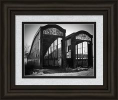 London Framed Print featuring the photograph Subway To Nowhere by Marnie Patchett