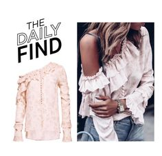 """""""The Daily Find: Magda Butrym Top"""" by polyvore-editorial ❤ liked on Polyvore featuring Magda Butrym and DailyFind"""