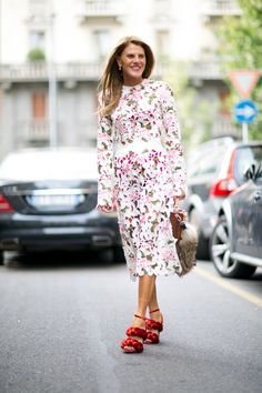 Pin for Later: All the Best Street Style From Milan Fashion Week Milan Fashion Week, Day 5 Anna Dello Russo.