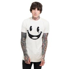 SMILE T-SHIRT | DROP DEAD | くたばる | WWW.DROPDEAD.CO