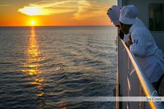 We couldn't ask for a more beautiful night for a sail - Chef on Board Top Chef Canada, Waiting For Next Year, 3 Course Meals, New Brunswick, Nova Scotia, Maine, Sailing, Sunset, Night