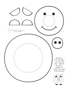 See 7 Best Images of Printable Crafts For Preschoolers. Inspiring Printable Crafts for Preschoolers printable images. Kids Printable Craft Templates Free Craft Printables Printable Pig Craft Free Printable Frog Crafts Free Printable Crafts for Girls Farm Animal Crafts, Pig Crafts, Farm Crafts, Cute Crafts, Farm Animals, Paper Crafts, Preschool Crafts, Crafts For Kids, Arts And Crafts