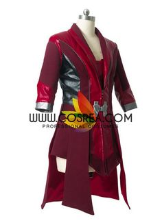 Avengers Civil War Scarlet Witch Cosplay Costume