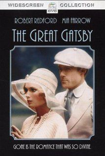 Jay Gatsby & Daisy Buchanan from the 1974 version of The Great Gatsby - we'll see how Leonardo DiCaprio and Carey Mulligan stand up to Robert Redford and Mia Farrow! Jay Gatsby, Gatsby Style, Gatsby Book, 1920s Style, Mia Farrow, Robert Redford, Scott Fitzgerald, Old Movies, Great Movies