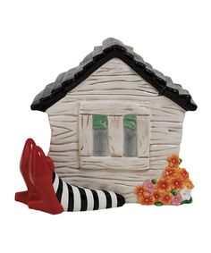 Take a look at this House on Legs Cookie Jar by Westland Giftware on #zulily today!