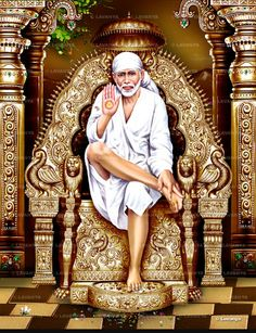 Babaji Sai Baba Pictures, Sai Baba Photos, Angel Pictures, God Pictures, Shirdi Sai Baba Wallpapers, Sai Baba Hd Wallpaper, Pagan Gods, Baba Image, Sathya Sai Baba