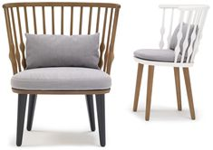 patricia urquiola: nub for andreu world. can't wait to use this chair on a project!