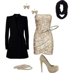New Years outfit, if I wasn't homebound with Wombat