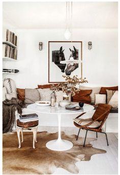 Cozy breakfast area. JWS Interiors
