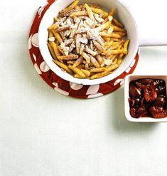 Süße Schupfnudeln Rezept - [ESSEN UND TRINKEN] Japchae, Waffles, Cereal, Cupcakes, Sweets, Breakfast, Desserts, Ethnic Recipes, Food