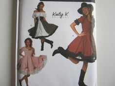 Simplicity Pattern 7719  Some fun to be had wearing this outfit. Get ready for square dancing, line dancing, two stepping or your next costume