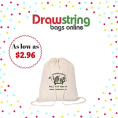 Custom Printed Cotton Drawstring Bags – Natural are made of ounce Cotton and are excellent for the promotions of a wide range of businesses including gyms, grocery stores and sports centers. These custom drawstring bags are also provided Custom Drawstring Bags, Online Bags, Printed Cotton, Baseball Hats, Natural, Prints, Shop, Baseball Caps, Caps Hats