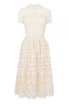 Warehouse Lace Shirt Dress, £99