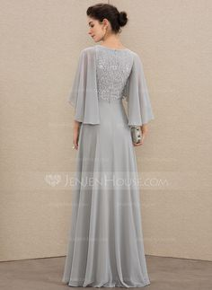 A-Line V-neck Floor-Length Chiffon Lace Mother of the Bride Dress With Beading S. - - A-Line V-neck Floor-Length Chiffon Lace Mother of the Bride Dress With Beading Sequins – Mother of the Bride Dresses – JJ's House Source by Maureenkad Mother Of Groom Dresses, Bride Groom Dress, Mothers Dresses, Mother Of The Bride, Mob Dresses, Bridesmaid Dresses, Formal Dresses, Wedding Dresses, Bride Dresses