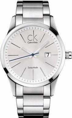 Calvin Klein Quartz Bracelet Silver Dial Men's Watch - K2246120 Calvin Klein. $182.21. Steel Bracelet Strap. Date