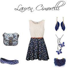 """Lauren Cimorelli"" by ashleysapuppo on Polyvore"