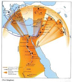 Mapa De Mesopotamia Viaje A Mesopotamia Pinterest - Map of egypt during the new kingdom