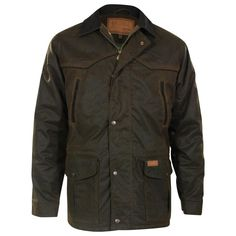 Outback Unisex Waterproof Oilskin Pathfinder Jacket