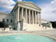 Supreme Court, Building, Washington DC How can you stand on these steps and walk up to those heavily carved doors and not be awestruck, and breathe a prayer for America? Neoclassical Architecture, Roman Architecture, Dc United, United States, Supreme Court Building, Dc Photography, Washington Dc Travel, Washington State, Usa Cities