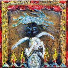 Four Fires - Official Artwork by Vasily Kafanov